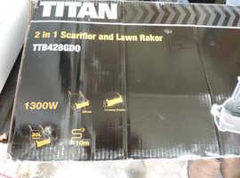 Titan lawn raker and scarifier no offers