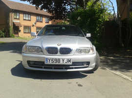 BMW 3 Series, 2001 (Y) Silver Convertible, Automatic Petrol, 138,400 miles