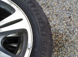 "Ford Smax / Mondeo 16"" Wheels with Goodyear efficient grip tyres."