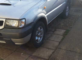 Nissan TERRANO SE TD, 2004 (53) grey estate, Manual Diesel, 151000 miles