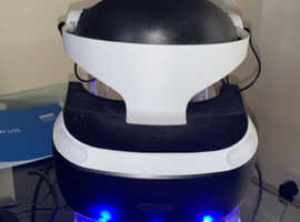 PlayStation VR with accessories