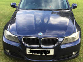 BMW 3 Series, 2011 (11) Blue Saloon, Manual Diesel, 142,000 miles