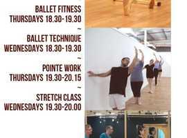 Adult Ballet Classs - Shirley, Southampton