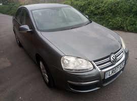 Volkswagen Jetta, 2007 (07) Grey Saloon, Manual Petrol, 52,000 miles