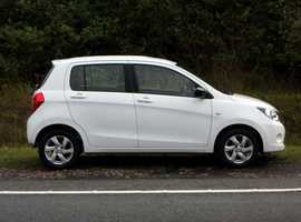 Suzuki CELERIO, 2015 (65) White Hatchback, Manual Petrol, 42,000 miles, 01443 831670
