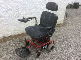 Electric Travel wheelchair, Powerchair, Dismantles for car trips.