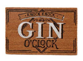 """""""It's Gin O'Clock !""""  Set the party going at your front door"""