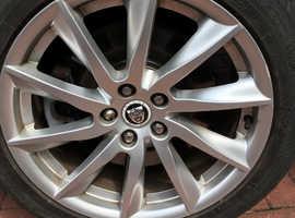 Jaguar Xf, 2012 (61) Silver Saloon, Automatic Diesel, Low mileage 12 month MOT