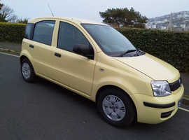 Fiat Panda, 2010 (10) Yellow Hatchback, Manual Petrol, 68,000 miles
