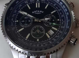 Rotary men's pilot watch