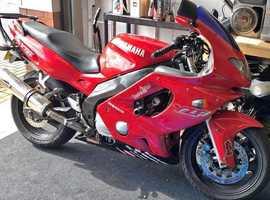 Yamaha YZF600R Thundercat. 1998(R)