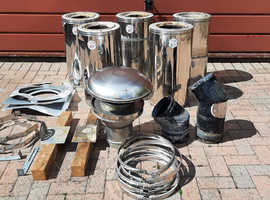 Selkirk Ceramic Twin Wall Chimney System (used) £350