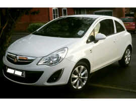 Vauxhall Corsa, 2012 (62) White Hatchback, Manual Petrol, 91,295 miles