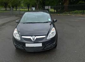 Vauxhall Corsa, 2009 (09) Black Other, Manual Petrol, 120,000 miles
