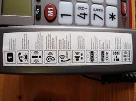 Phone, amplicom powertell 50 alarm plus vgc