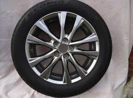 TOYOTA 2014-2018 RAV4 Alloy wheel and tyre 235/55/18 100H