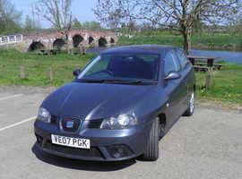 Seat Ibiza, 2007 (07) Grey Hatchback, Manual Diesel, 91,174 miles