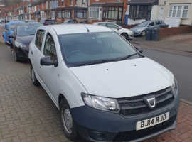 Dacia Sandero, 2014 (14) White Hatchback, Manual Petrol, 82,000 miles