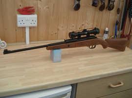 Huntington Beach  177 Air Rifle with NEW SMK Scope