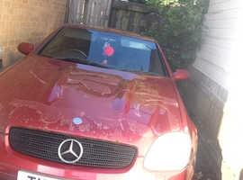 Mercedes SLK 230 KOMPRESSOR AUTO, 1999 (T) Red Convertible, Manual Petrol, 105,000 miles