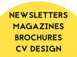Affordable professional design and proofreading services