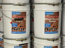 Block paving patio sealer driveway hard wearing long lasting 20 litre