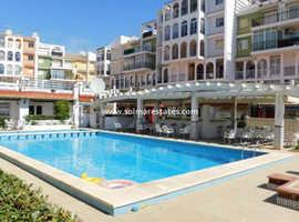 Costa Blanca Beachside 1st Floor Studio Apartment- 200m to Beach- Mar Azul, Torrevieja. Open to reasonable offers