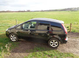 Ford C-Max, 2011 (11) Black MPV, Manual Petrol, 66.000 miles