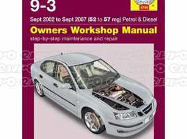 Saab sportswagon Haines manual for sale