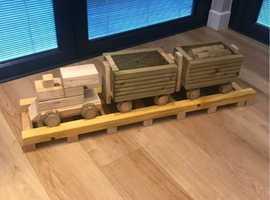 Steam Train Planter