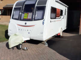 Fully equipped 2015 Bailey Saville 2 berth caravan