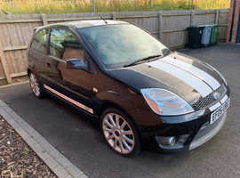 Ford Fiesta 2.0 ST, 2005 Black Hatchback, Manual Petrol, 82,000 miles