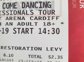 Strictly professionals tour tickets