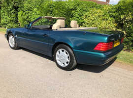 1997 Merc 280SL R129 convertible 77,024 mls beautiful condition 2 owners new MOT new service Full sh