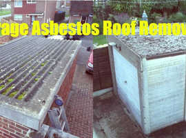 Asbestos Garage Roof Removal Islington London Fast & Reliable Free Quote Now
