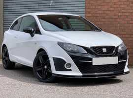 Seat Ibiza 1.4 Sport Coupe Bocanegra Edition DSG Stunning Low Mileage Semi Auto with Paddle Shift, and a Full Service History