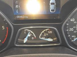 Ford Focus, 2015 (15) Black Estate, Manual Diesel, 98,500 miles