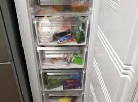 Tall larder frost free freezer