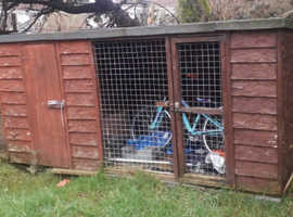 Kennel and run 100 ono