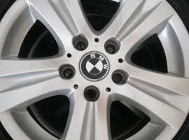 Black and white bmw wheels and alloys