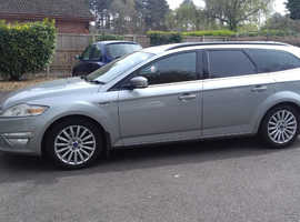 Ford Mondeo, 2013 (63) Silver Estate, Manual Diesel, 271,000 miles