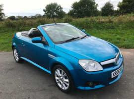 Vauxhall Tigra, 2006 (06) Blue Coupe, Manual Petrol, 81,000 miles