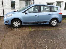 Renault Scenic, 2011 (60) Blue MPV, Manual Diesel, 77,000 miles