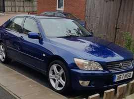Lexus Is, 2001 (X) Blue Saloon, Automatic Petrol, 130,000 miles