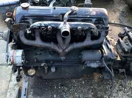 Ford 6 CY 380 Upright Engine, Complete Gearbox, Good Runner