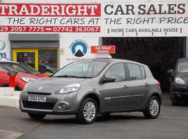 2012/62 Renault Clio 1.2 Expression Plus finished in Shadow Grey Metallic., 26,999 miles