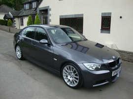 BMW 3 Series, 2008 (58) Grey Saloon, Manual Diesel, 134,000 miles