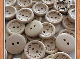 Plain and Novelty Buttons