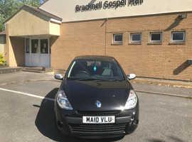 Renault Clio, 2010 (10) Black Hatchback, Manual Diesel, 120,000 miles