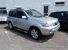 Nissan X-TRAIL, 2006 (06) Silver Estate, Manual Diesel, 81,000 miles